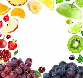 foto of fruit  - Fresh fruit - JPG