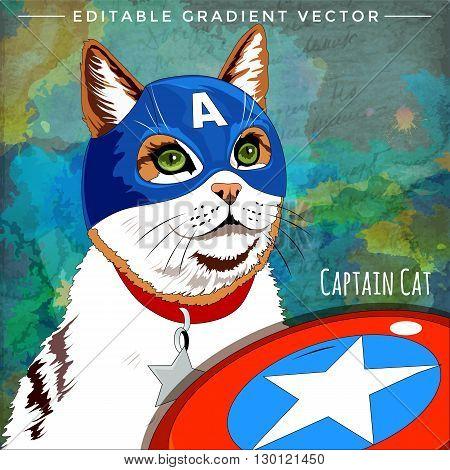 Cap America Cat
