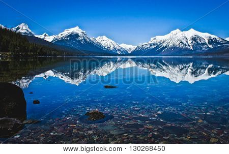 Glacier National Park Lake Mcdonald