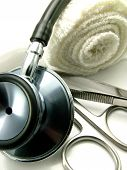 Stethoscope And Medical Tools