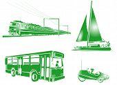 Symbol Transportation Icons