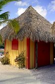 Beach Hut At Coco Cay
