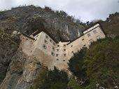 Predjama Castle Wide Top Angle