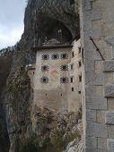 Predjama Castle Wall