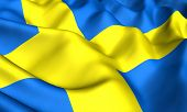 image of sweden flag  - Flag of Sweden - JPG