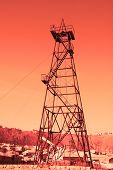 Oil Derrick With