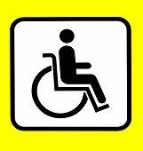 Pessoa com deficiência de sinal