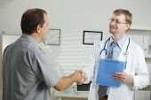 stock photo of doctors office  - Medical office  - JPG