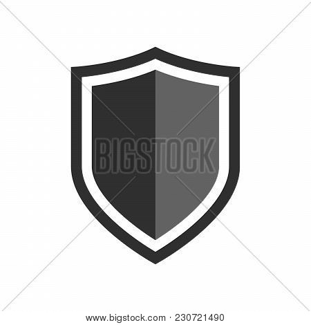 poster of Vector Shield Icon. Security Vector Icon Collection. Protection Logo, Shield. Сryptocurrency Protect