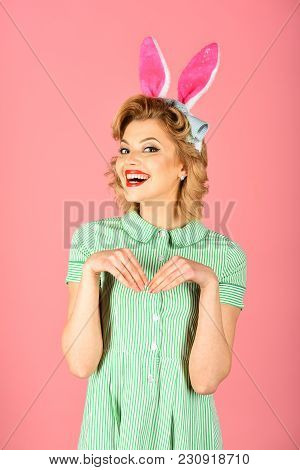 Easter Makeup Pinup Party Girl