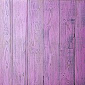 Wooden Background. Old Shabby Pink Colored Wooden Fence. Square Background Close-up For Instagram poster