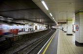 Underground Tube Station London