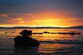 Sunset: Ayr Beach