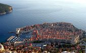 Croatia - ancient Dubrovnik fortified city