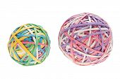Two Rubber Band Balls