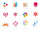 Set of different icons (part 7). Please see more in my portfolio.