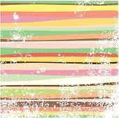 Grunge muli-colored horizontal stripes