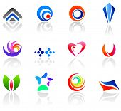 Set of different icons for your design (part 5). Please visit my gallery to see similar.