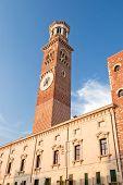 Lamberti Tower, Verona, Italy