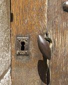 Castle Door W Key Hole