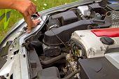 Control de motor de aceite