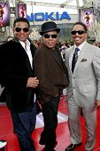 LOS ANGELES - OCT 27: Jackie Jackson, Tito Jackson and Marlon Jackson at the Los Angeles Premiere of