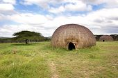 pic of zulu  - Landscape of rural zululand - JPG