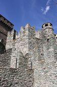 The Fenis Castle, Aosta,Italy