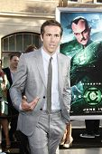 LOS ANGELES - JUNE 15: Ryan Reynolds at the premiere of Warner Bros. Pictures' 'Green Lantern' held at Grauman's Chinese Theatre in Los Angeles,CA on June 15, 2011.