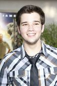 LOS ANGELES, CA - JULY 06:  Nathan Kress at the premiere of 'The Zookeeper' at the Regency Village T