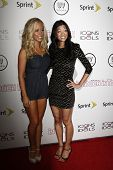 WEST HOLLYWOOD - AUG 28: Kendra Wilkinson; Michelle Lee at the 4th annual Icons & Idols party at the