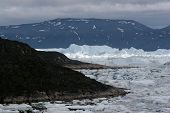 View Of The Icefjord Near Ilulissat