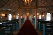 Inside The Zion Church In Ilulissat
