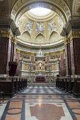 St. Stephen's Basilica Interior Picture