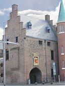 Постер, плакат: Gevangenpoort в Гааге Ден Хааг Нидерланды