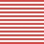 Christmas And New Year Pattern Of Repetitive Horizontal Strips Of Red And White Color. Red And White poster