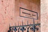 Immanuel Kant, Grab