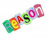Reason Concept.