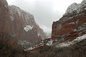 Cliffs At Kolob Canyons