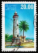 Postage Stamp Sri Lanka 1996 Galle Lighthouse