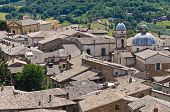 Panoramic view of Orvieto. Umbria. Italy.