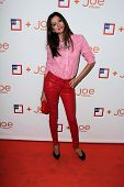 LOS ANGELES - MAR 7:  Noureen DeWulf arrives at the introduction of Joe Fresh at JCP at the Joe Fres