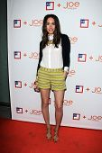 LOS ANGELES - MAR 7:  Louise Roe arrives at the introduction of Joe Fresh at JCP at the Joe Fresh at