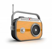 Retro radio concept.