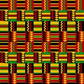 African fabric pattern