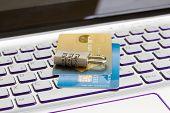 internet transaction security concept