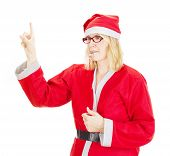 Santa Claus With Thunderer Whistle