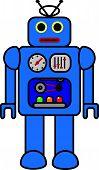 Retro Toy Robot