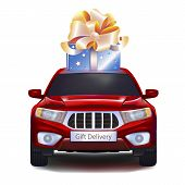 Gift On Car