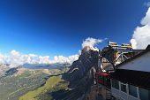 Cableway On Dolomites